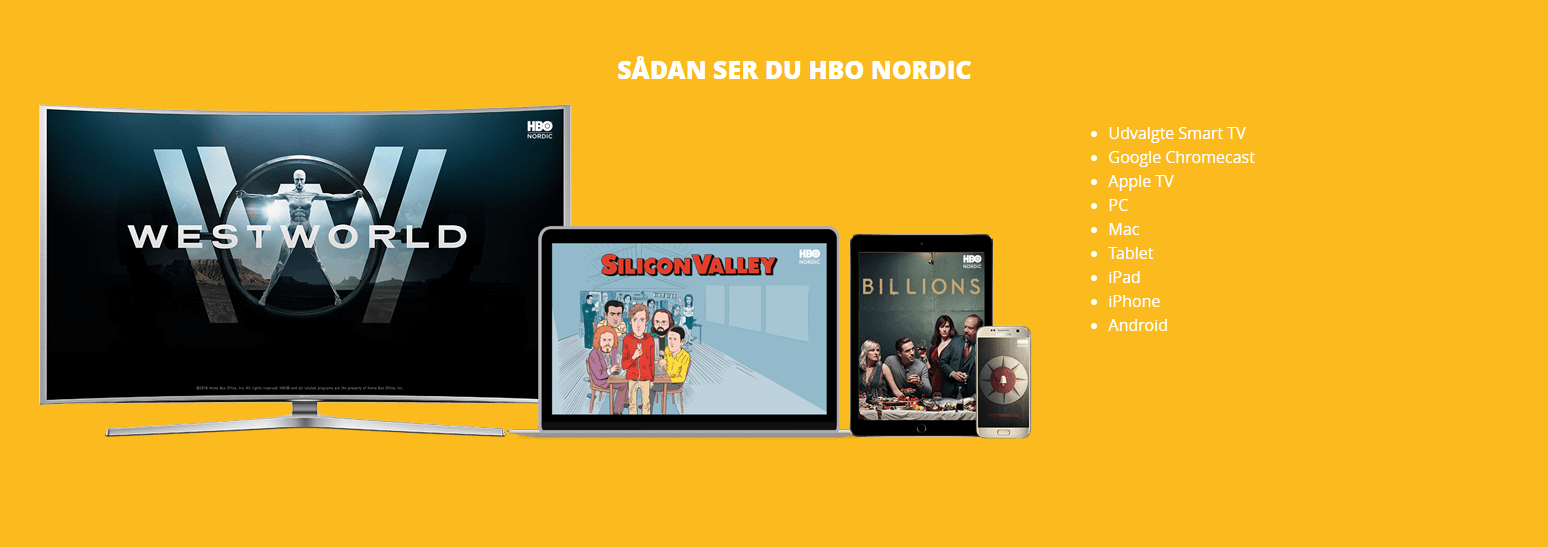 Sådan ser du HBO Nordic Mobilabonnement hos Telmore